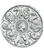 2oz Queens Beasts Silver Completer 999. Silver. Will Start Delivery From Ausgust