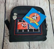 Vintage 1999 Tazmanian Devil Taz Cd Wallet Case 24 Capacity New With Tags