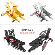 Rear Racing Foot Pegs Footpegs Footrest Pedal Fit Yamaha Mt-03mt-25 2015 2pcs