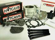 03-13 Yz250f Yz 250f Cyilnder Hot Cams Hotcams Complete Top End Rebuild Kit 80mm