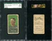 T206 Cy Young Portrait Hof Sgc 10 1 Old Mill Back Super Rare