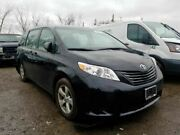 Automatic Transmission 6 Cylinder Fwd Fits 17-19 Sienna 1540673