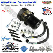 Dixie Chopper Wheel Motor Conversion Kit Right Hand For Lawn Mowers / 902814