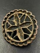 Old Ancient Antique Jewelry Bronze Signet Seals Cloths Ornaments Buttons