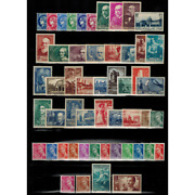 Stamps From France Year Complete 1938 New