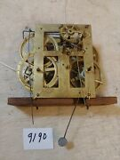 Antique Ansonia Brass Co. Ogee Clock Movement