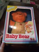 Vintage Mattel Softuf Baby Bear Sealed In Damaged Box 1970s Collector Gift