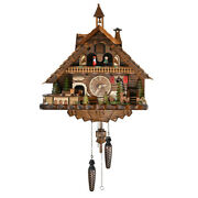 Masterpiece Black Forest Chalet With Bell Tower Quartz Cuckoo Clock