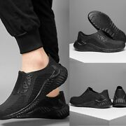 Mens Chef Kitchen Cook Shoes Restaurant Oil Resistant Non-slip Sneakers Boot
