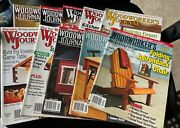 Woodworkers Journal Lot Of 10 Magazines Dated From 2010 - 2019 Item W-5