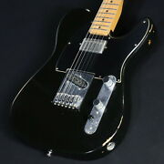 Fender Mexico Road Worn Player Telecaster Black Used Maple Neck W/soft Case
