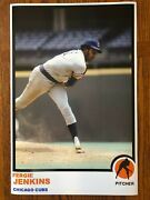 1973 Style Fergie Jenkins Chicago Cubs Poster Si Sports Illustrated Like Photo