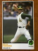 1973 Style Rollie Fingers Oakland A's Poster Si Sports Illustrated Like Photo