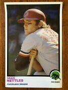 1973 Style Graig Nettles Cleveland Indians Poster Si Sports Illustrated Like