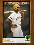 1973 Style Dave Parker Pittsburgh Pirates Poster Si Sports Illustrated Like