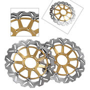 Motorcycle Floating Front Brake Disc Rotor For Ducati 749 848 999 S/r 2002-2007