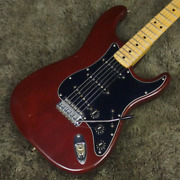 Fender 1979 Stratocaster Wine Red Maple Fingerboard Electric Guitar