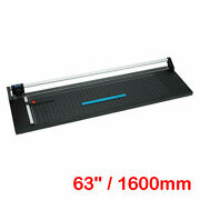 63 1600mm Manual Precision Rotary Paper Trimmer, Sharp Photo Paper Cutter