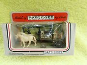 Lledo Horse Drawn Fire Engine - Norwich Union - Vintage Silver And Red Box