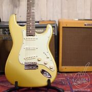 Used Mint Combat 2021 St-custom Model-1 Gold Electric Guitar Free Shipping