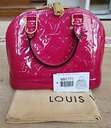 Louis Vuitton Alma Bb Rose Indien Completely Sold Out