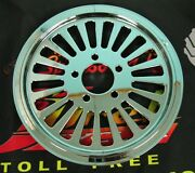 Ultima Chrome King Spoke Pulley 1 1/8 Wide 65 Tooth 99and039- Earlier And 00and039- Later