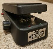 Dunlop Jh-1fw Jimi Hendrix Signature Fuzz Wah Crybaby Effect Pedal Red Fasel