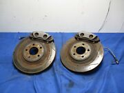 2003-04 Ford Mustang Svt Cobra Front Brake Calipers, Stainless Steel Lines 064