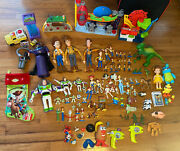 Disney Toy Story Lot Tons Of Characters, Accessories And Scenes