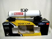 K-line By Lionel 6-22644 Ford Motorcraft Aluminum Scale Tank Car