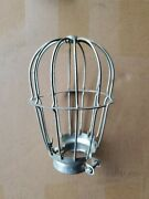 Vintage Mcgill Mfg Co Drop Work Trouble Light Old Style Cage Steam Punk