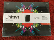 Cisco Linksys E1200 Wireless N300 Wifi Router With 4 Port Switch Monitor