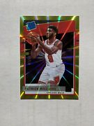2020-21 Donruss Patrick Williams 227 Rated Rookie Rc Gold Jersey 09/10 1/1 Sp