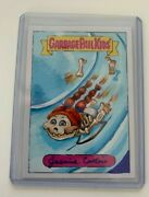 One Of A Kind Hand Drawn Garbage Pail Kids Sketch Card Of Jasmine Contois