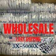 Wholesale Bulk Lot Usb Charger Cable 3ft 6ft For Apple Iphone Xr 8 7 6 Plus Cord