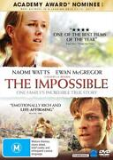 The Impossible Dvd Disaster Tsunami True Survival Sotry Movie Naomi Watts 2012