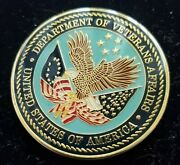Us Department Of Veterans Affairs Chief Of External Affairs Challenge Coin