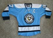 Vintage Penguins Winter Classic Crosby 87 Jersey Stanley Cup Final 2009 Size 48