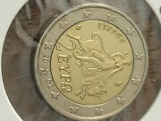 2 Euro Rare Coin 2002 / S On The Star / Uncirculated