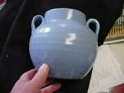 North Carolina Pottery Vase-2 Thick Handles-unsigned-who