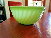 Vintage Fire King Jadeite 8' Mixing Bowl 1940's - 1950's        1770