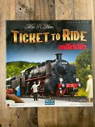 Ticket To Ride Marklin Board Game In Excellent Condition