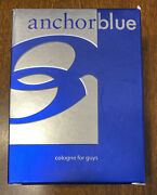 New In Box Anchor Blue Cologne For Guys Men 3.4 Oz Discontinued Rare Never Used