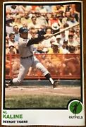 1973 Style Al Kaline Detroit Tigers Poster Si Sports Illustrated Like Photo