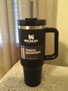 New Stanley Adventure Quencher Travel Tumbler 40oz Black - Free Personalize