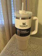 New Stanley Adventure Quencher Travel Tumbler 40oz Cream - Free Personalize