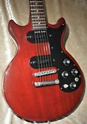 Gibson 1977 Melody Maker Double Pu G-club Tokyo Electric Guitar With Hard Case