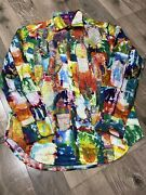 Robert Graham Limited Edition Mens Casual F/s Shirt Small Classic Fit