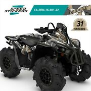 Can Am Brp Renegade X Mr 570 And 1000r Sticker Set With Amazing Graphics +gift