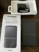 Genuine Samsung Wireless Charger Duo Pad Ep-p4300 Black Preowned
